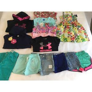 Other - Girls 7-8 Clothes Lot Under Armour Gymboree OshKos